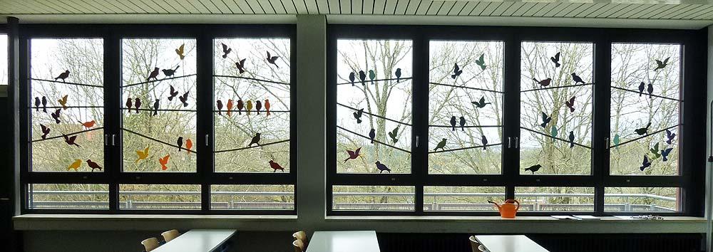 Fensterdekoration Fruhling Kinder Raum Und Mobeldesign